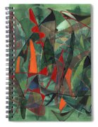 In The Hedgerow Spiral Notebook
