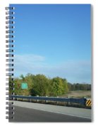 I55 Crossing Money Creek Spiral Notebook