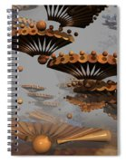 Icarus' New Wings Spiral Notebook