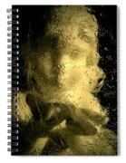 Ice Angel Spiral Notebook