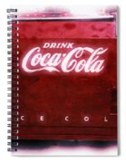 Ice Cold Coca Cola Spiral Notebook