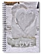 Ice Cold Love Spiral Notebook