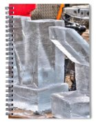 Ice Cold Ny Spiral Notebook