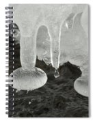 Ice Spiral Notebook