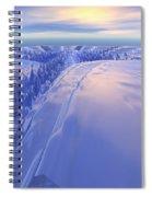 Ice Fissure Spiral Notebook