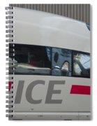 Ice Germany Spiral Notebook