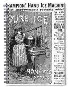 Ice Machine, 1891 Spiral Notebook