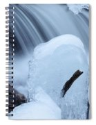 Ice Tombstone Frozen In Time Spiral Notebook