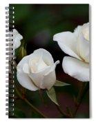 Iceberg Roses Spiral Notebook