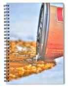 Iced Cap Spiral Notebook