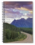 Icefields Parkway, Jasper National Spiral Notebook