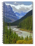 Icefields Parkway Spiral Notebook