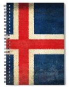 Iceland Flag Spiral Notebook