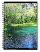 Ichetucknee Blue Hole Spring Spiral Notebook