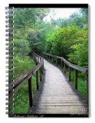 Ichetucknee Forest Pathway Spiral Notebook