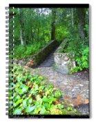 Ichetucknee Stairway Spiral Notebook