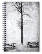 Icing On The Lake Spiral Notebook