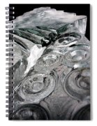 Icy Climb To The Christmas Tree Spiral Notebook
