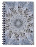 Icy Mandala 2 Spiral Notebook