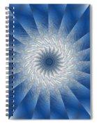 Icy Mandala 7 Spiral Notebook
