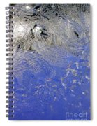 Icy Window Pane Spiral Notebook