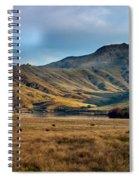 Idaho Foothills Spiral Notebook