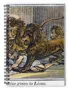 Ignatius Of Antioch (c35-110) Spiral Notebook