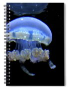 Illuminated Jellyfish  Spiral Notebook