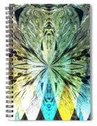 Illumination Of The Glass Butterfly Spiral Notebook