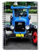 I'm Cute - 1922 Model T Ford Spiral Notebook