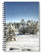 I'm Dreaming Of A White Christmas  Spiral Notebook