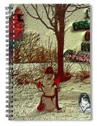 I'm Dreaming Of White Christmas Spiral Notebook