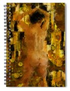I'm Waiting For You    Female Spiral Notebook