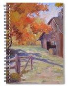 Immaculate Spiral Notebook