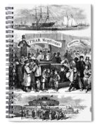 Immigration: Castle Garden Spiral Notebook