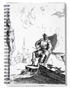 Impalement Of Waldenses Spiral Notebook