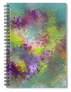Impressionistic Abstract Spiral Notebook