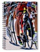 In A Line Spiral Notebook