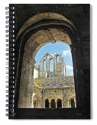 In A Monastery  Spiral Notebook