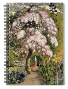 In A Shoreham Garden Spiral Notebook