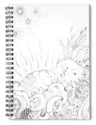 In A World Of Wonder Spiral Notebook