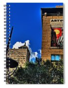 In Downtown Buffalo Spiral Notebook