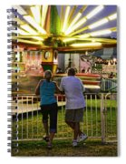 In Love At The Fair Spiral Notebook