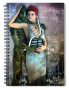 In Love With An Alien Spiral Notebook