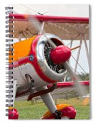 In Plane View Spiral Notebook