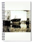 In Portsmouth Harbor Spiral Notebook
