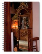 In Private Prayer Spiral Notebook