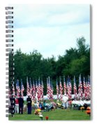 In Remembrance Of 9-11 Spiral Notebook
