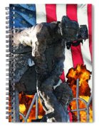 In Remembrance Of 911 Spiral Notebook