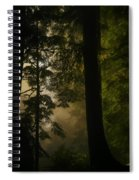 In Soft Shades Of Paradise Spiral Notebook